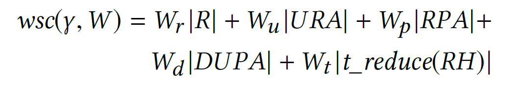 Metric: Weighted Structural Complexity